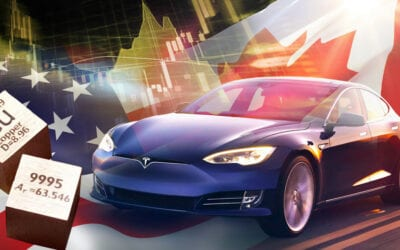 U.S. electric car revolution about to trigger a massive spike in global copper demand!