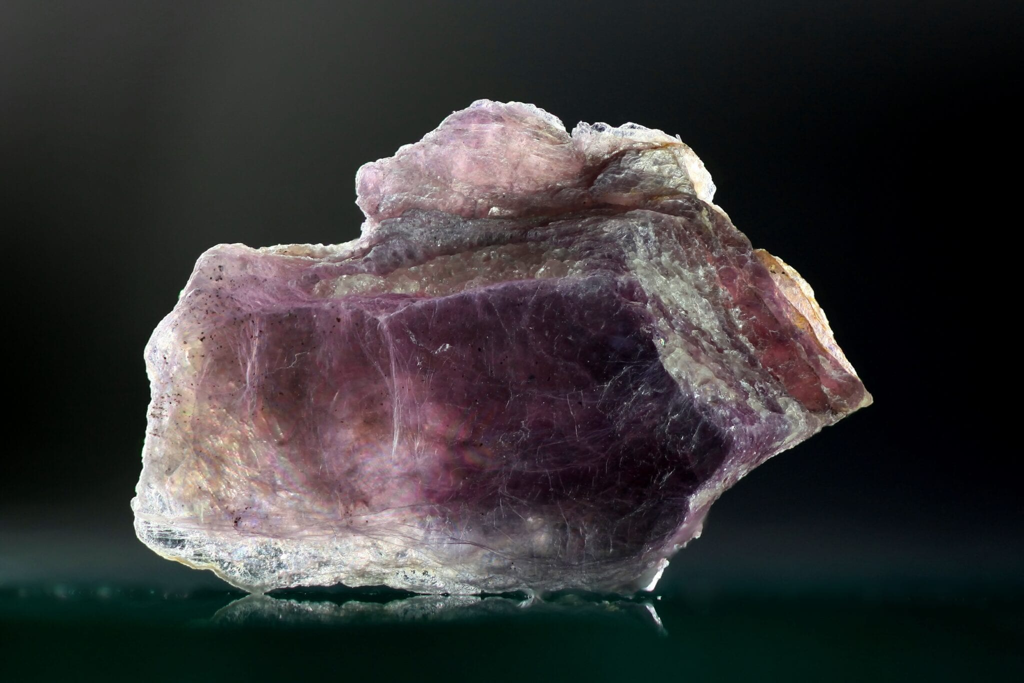 Lepidolite, a source of Lithium attributed to lithium energy stocks.